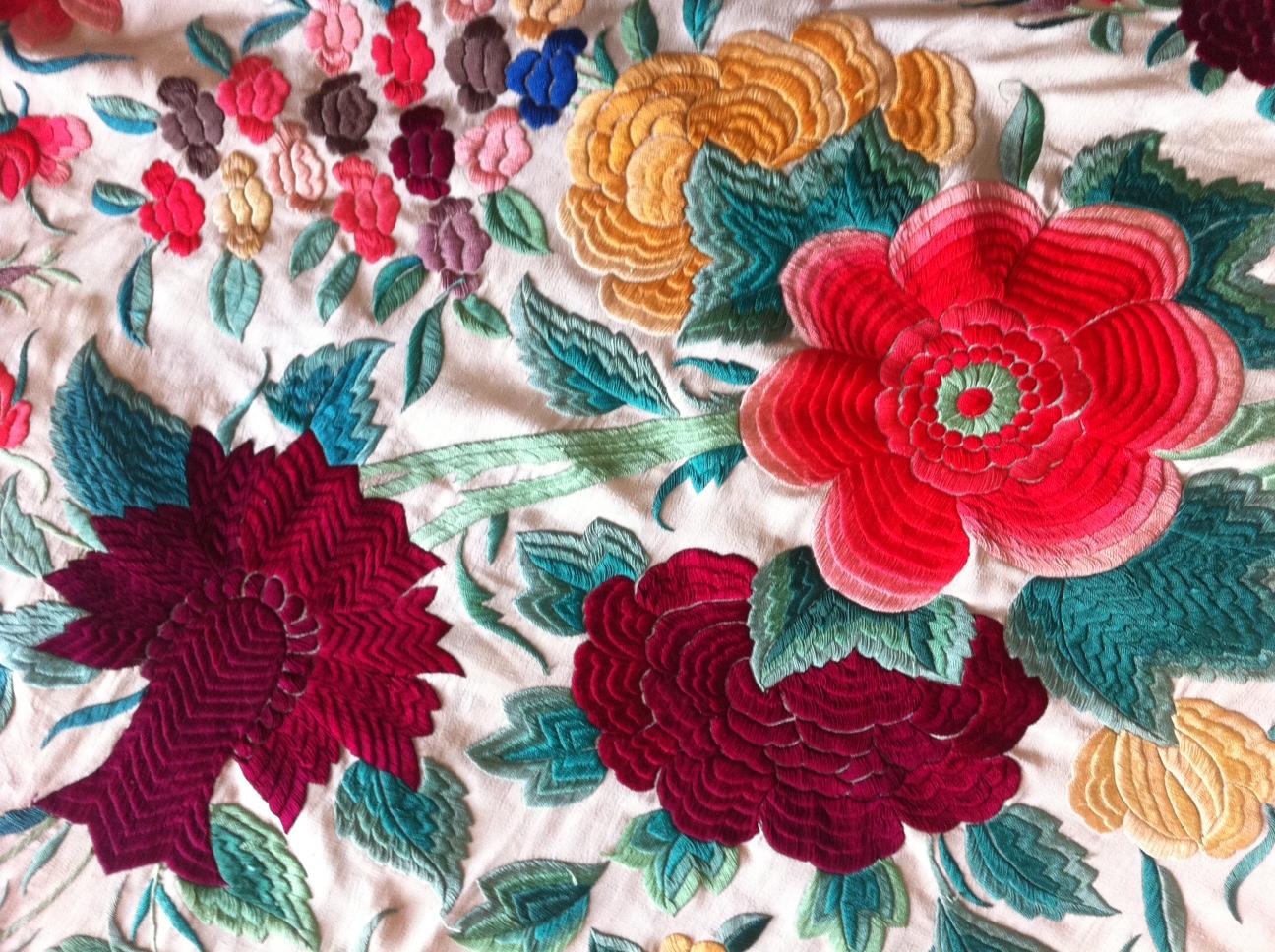 heather shawl